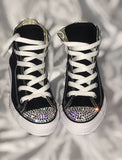 Girl's Bling Converse (All Star) Toddler