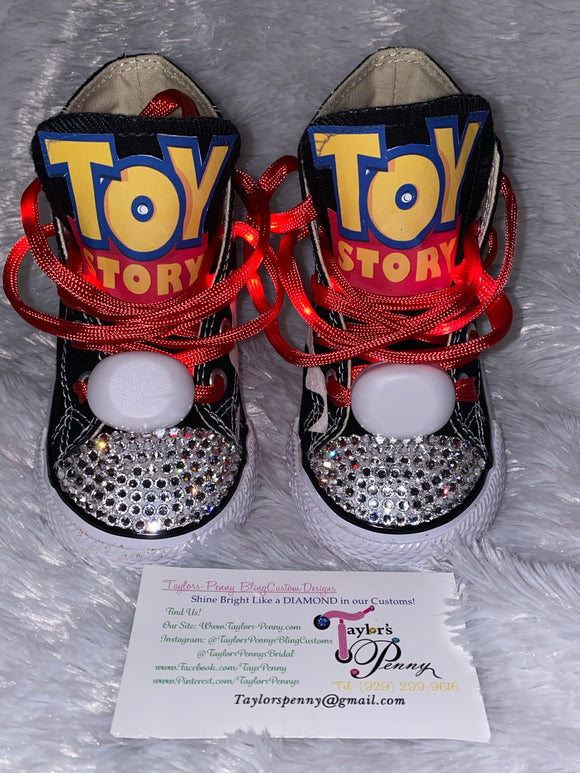 Bling Converse for Girls/ Jessie of Toy Story