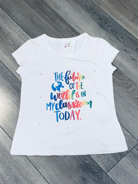 Custom Kids Shirt (School Quote)