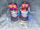 Girls Bling Converse (LOL Diva Surprise) Embellished