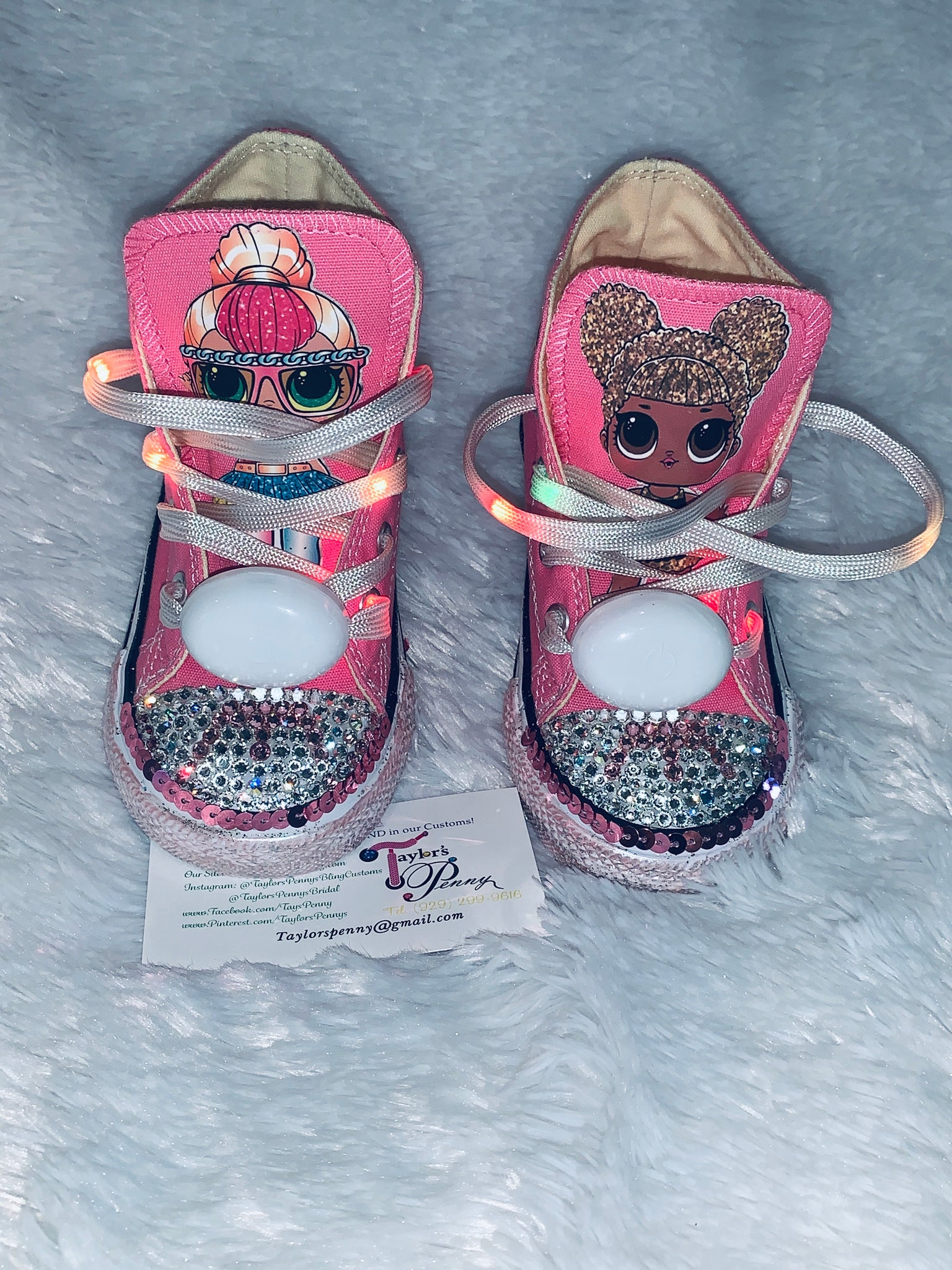 Girls Bling Converse (LOL Surprise) Sneakers – Taylors Penny