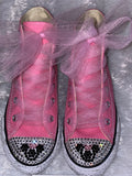 Girl's BLING CONVERSE w/ Tulle (MINNIE MOUSE)