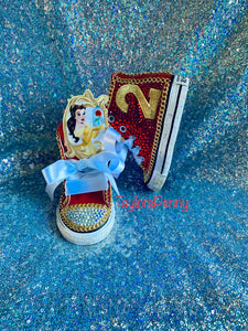Disney Princess Belle Bling Sneakers