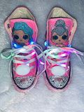 Girls Bling Converse (LOL Surprise) Sneakers