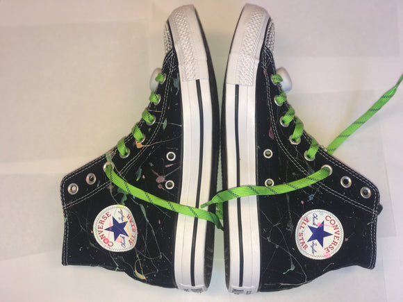 Bling Converse Neon Glow in the Dark