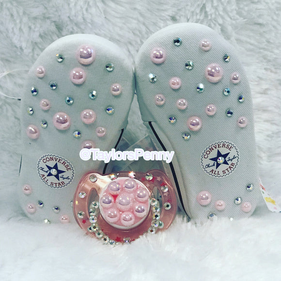 Baby Bling Converse w/ Bling Binky (Care Bears & Bling)