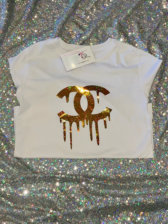 Custom Kids Shirt (CC) Inspired Gold