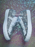 Womens Bling Converse Embellished