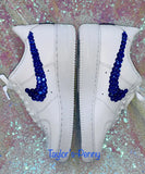 AirForce 1 (Uptown's) Sequin Blue