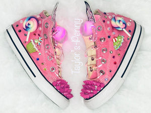 Girls Bling Converse (Candy Land)