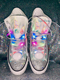 Youth Unicorn Bling Converse Sneakers