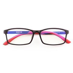 Mind BridgeBig Kids and Teens Computer Glasses (Black Red) - CrystalHill