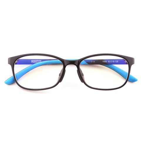 Mind BridgeBig Kids and Teens Computer Glasses (Black Blue) - CrystalHill