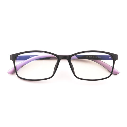 Mind BridgeBig Kids and Teens Computer Glasses (Black Purple) - CrystalHill