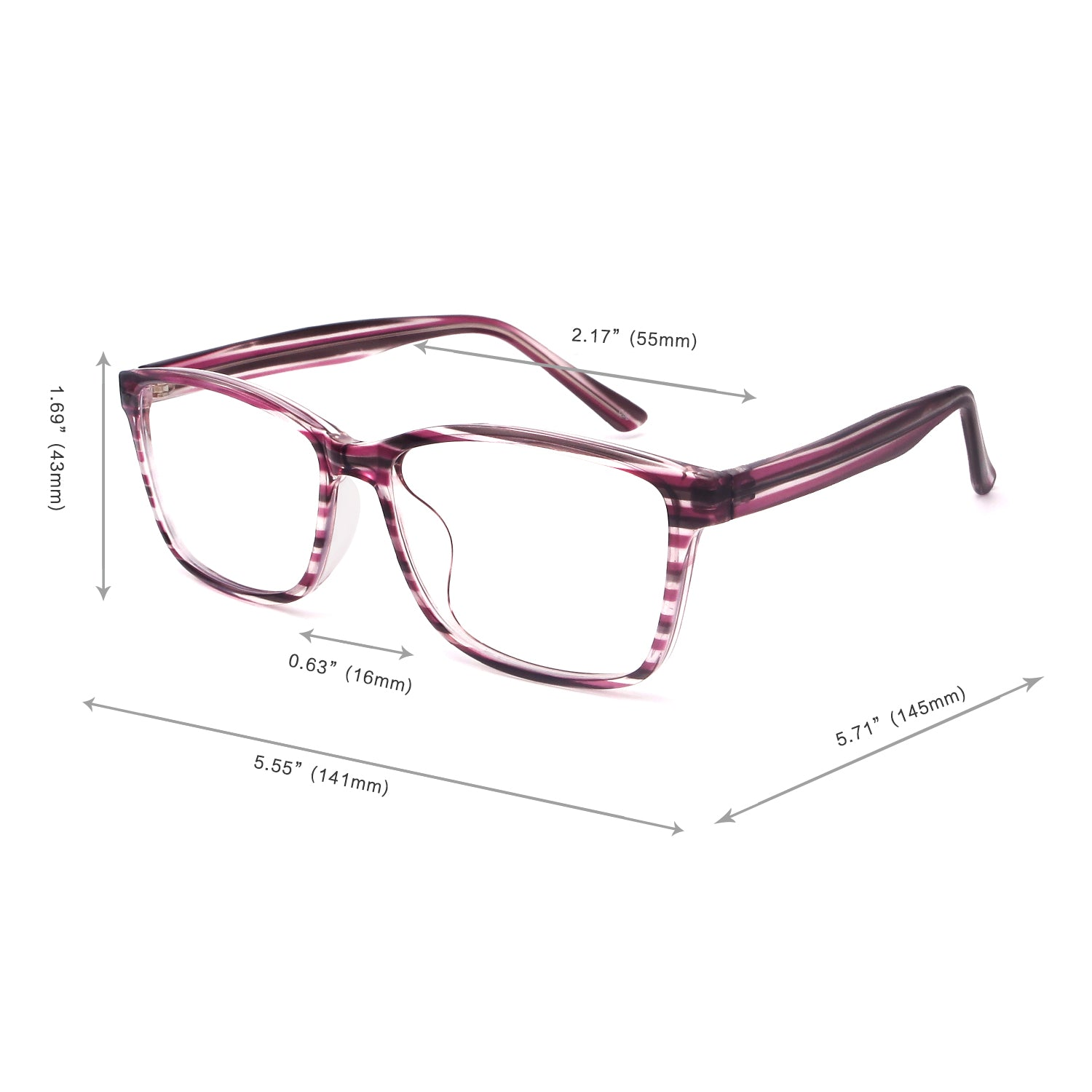 Rectangle 80608 Computer Glasses