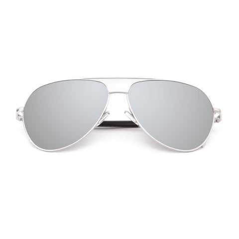 AKGAviator Mirror Polarized Sunglasses 1719 - CrystalHill