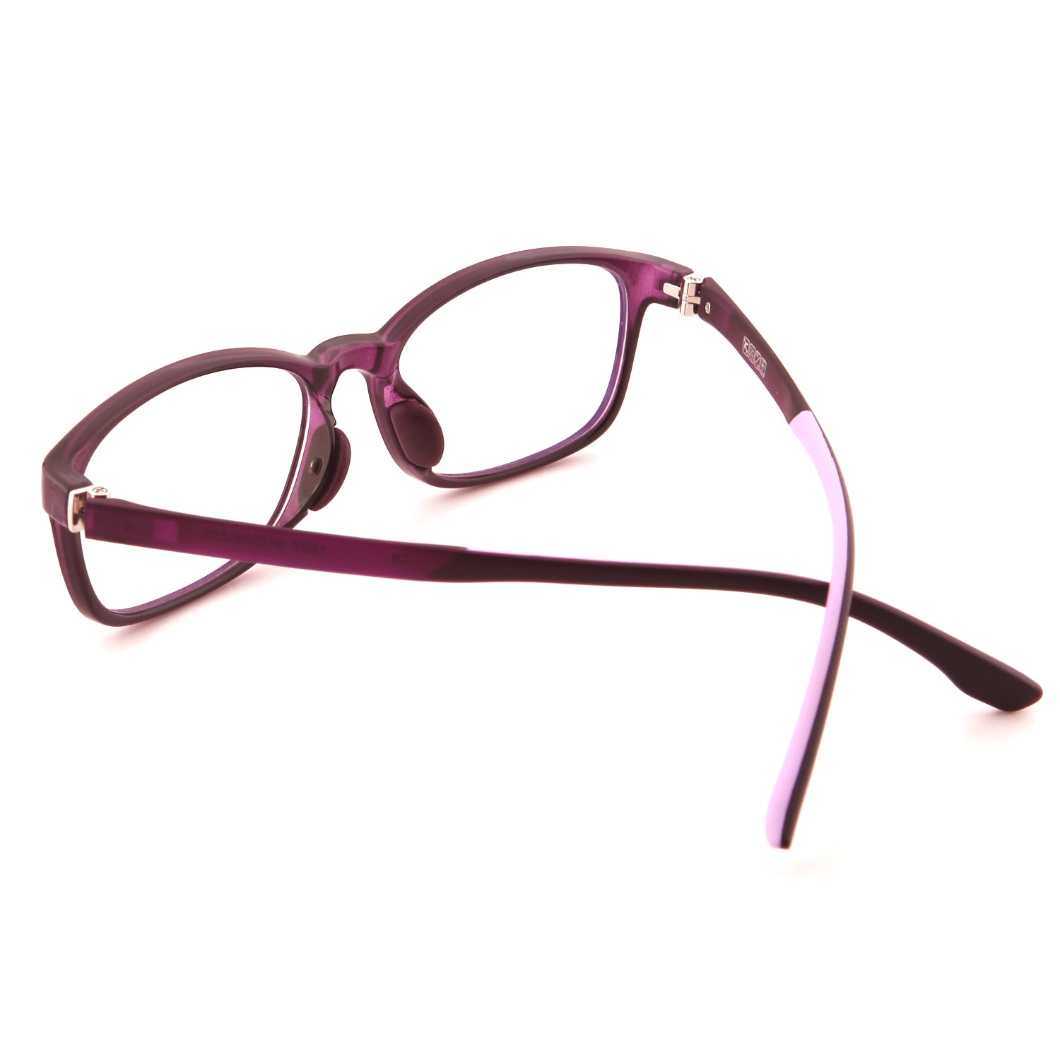 Mind BridgeBig Kids and Teens Computer Glasses (Purple) - CrystalHill