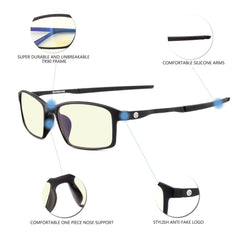 GAMEKINGUltra 8001 Computer Glasses - CrystalHill