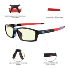 GAMEKINGUltra 9060 Computer Glasses - CrystalHill