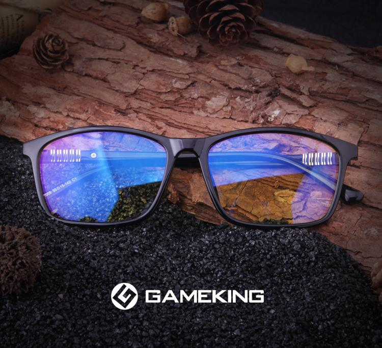 GAMEKINGClassic 2009 Computer Glasses - CrystalHill