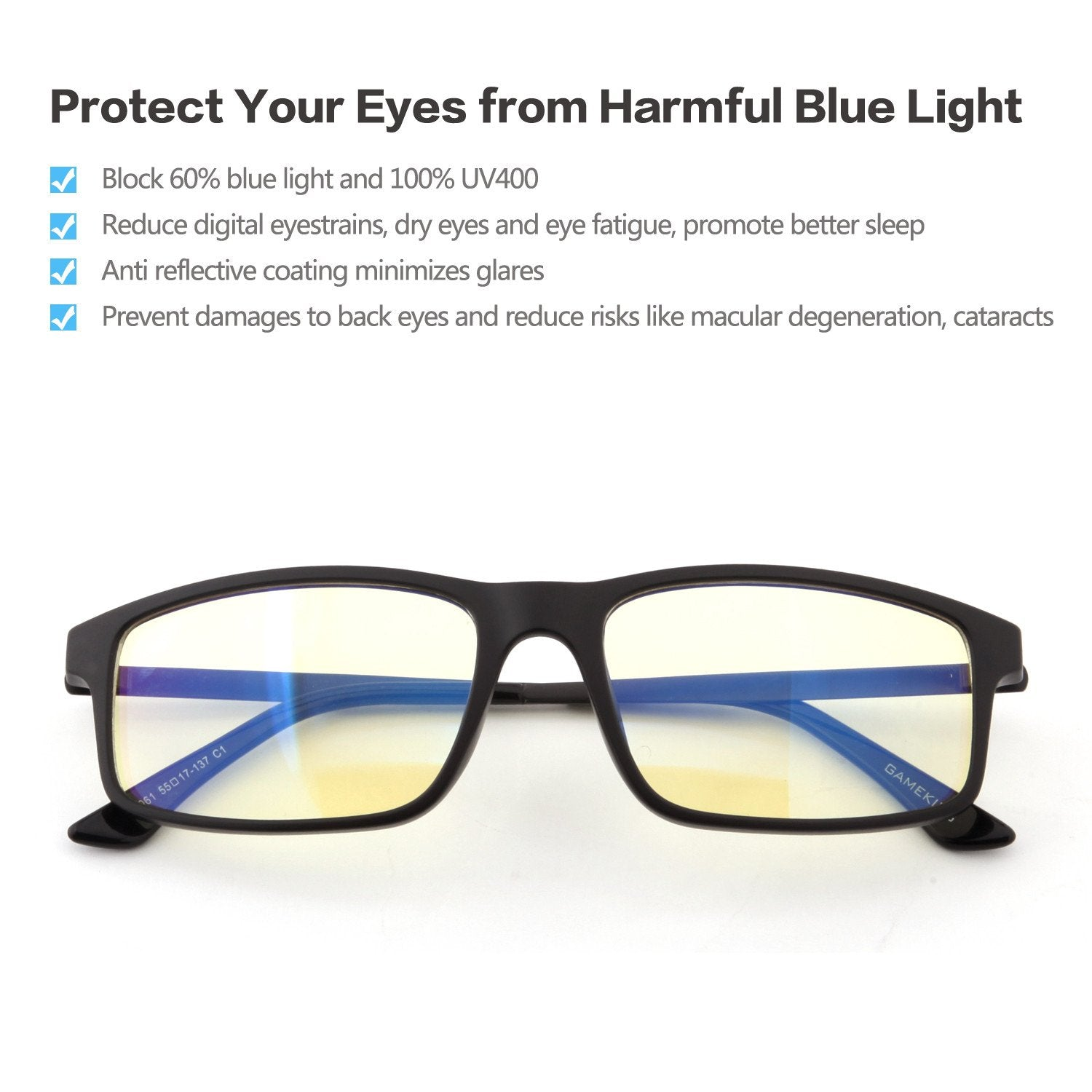 uv better dp blocking computer cyxus sleep glasses eye light fatigue reading anti eyewear headaches lens yellow filter harmful strain block blue