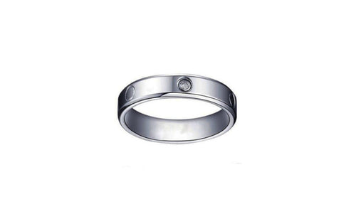 1/2 Carat Genuine White Round Diamond Tungsten Women's