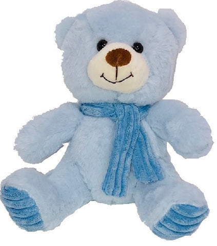 Baby Blue Bear with Scarf