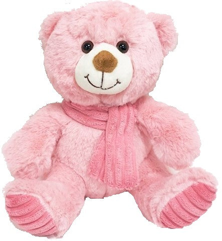Baby Pink Bear with Scarf