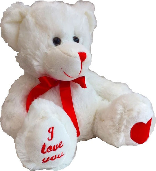 Romeo Teddy Bear - Brown or White