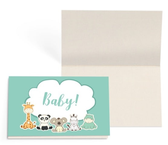 Baby Animals Gift Card