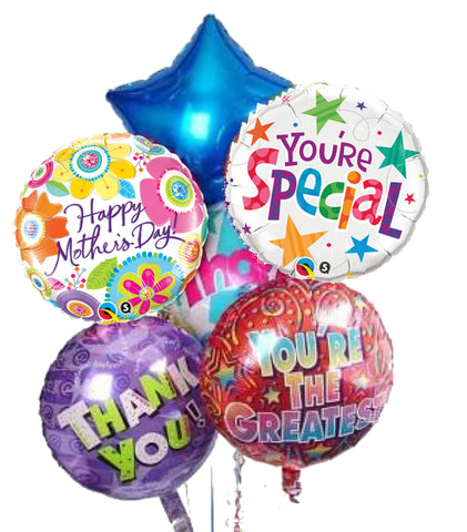 Helium Balloon 45cm - Designs Vary