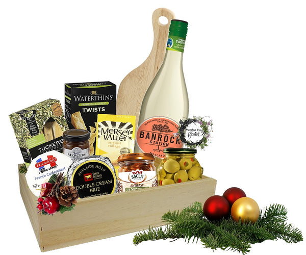 Gourmet Cheese & Wine Hamper