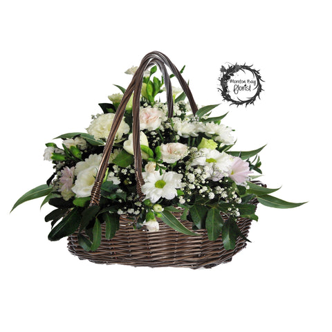 Cream Blush Basket