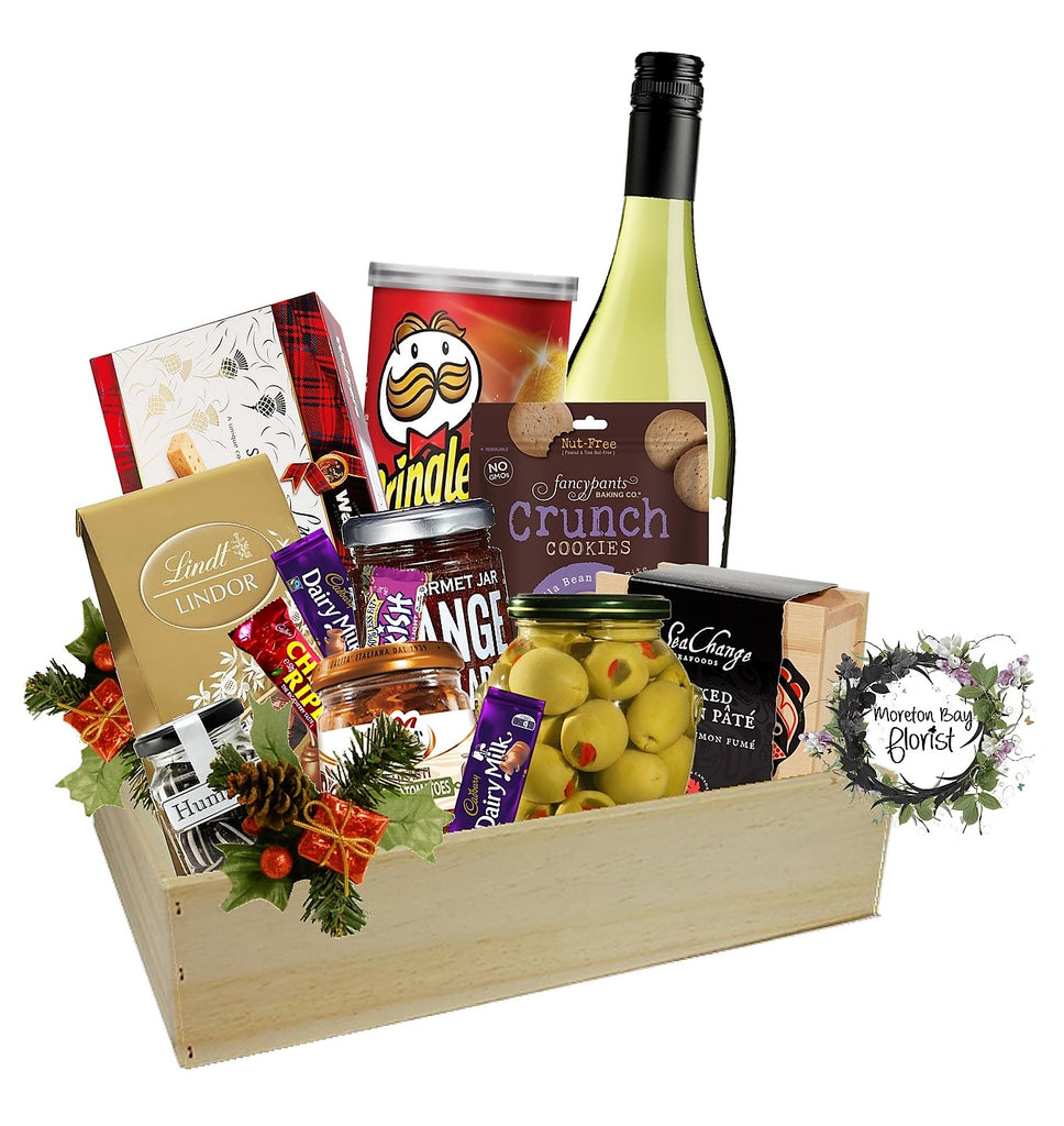 Christmas Gourmet and Wine Hamper