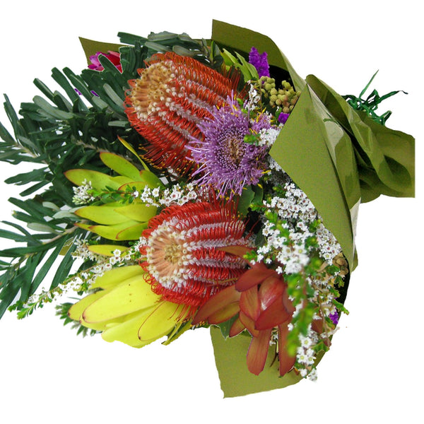 Native and Wildflower Bouquets delivered throughout Brisbane