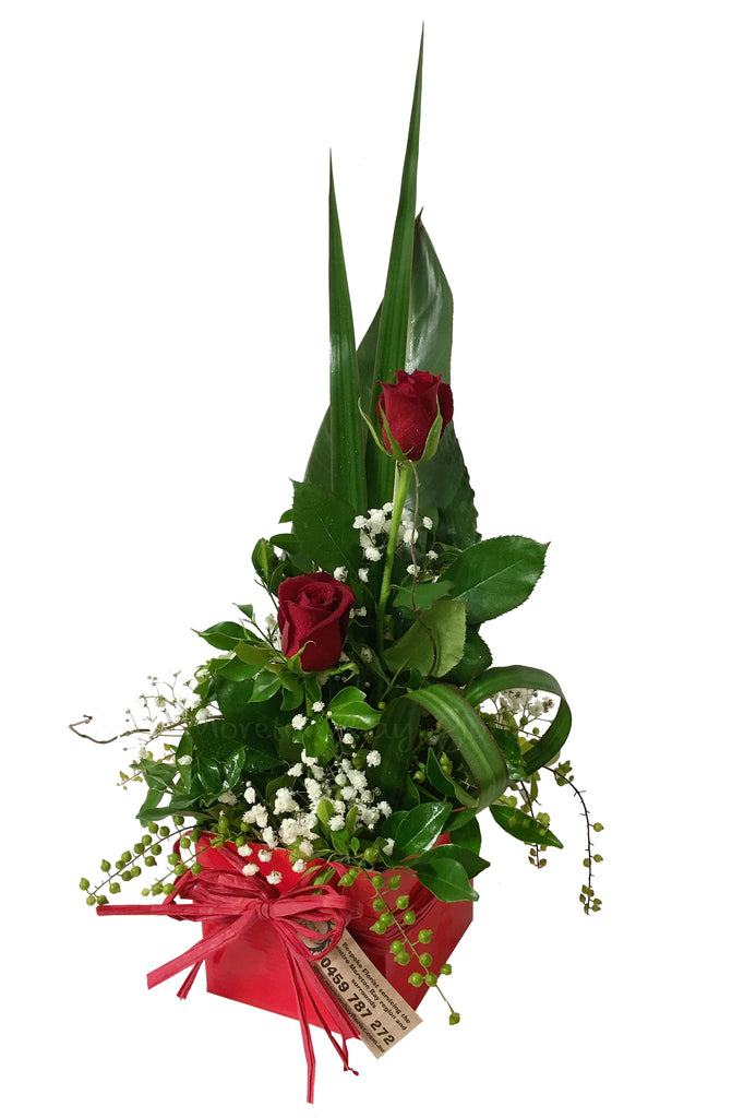 Red Rose Arrangement Delivered