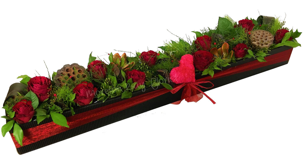 Contemporary Rose Box