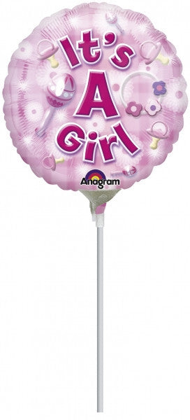 10cm Balloon on a stick