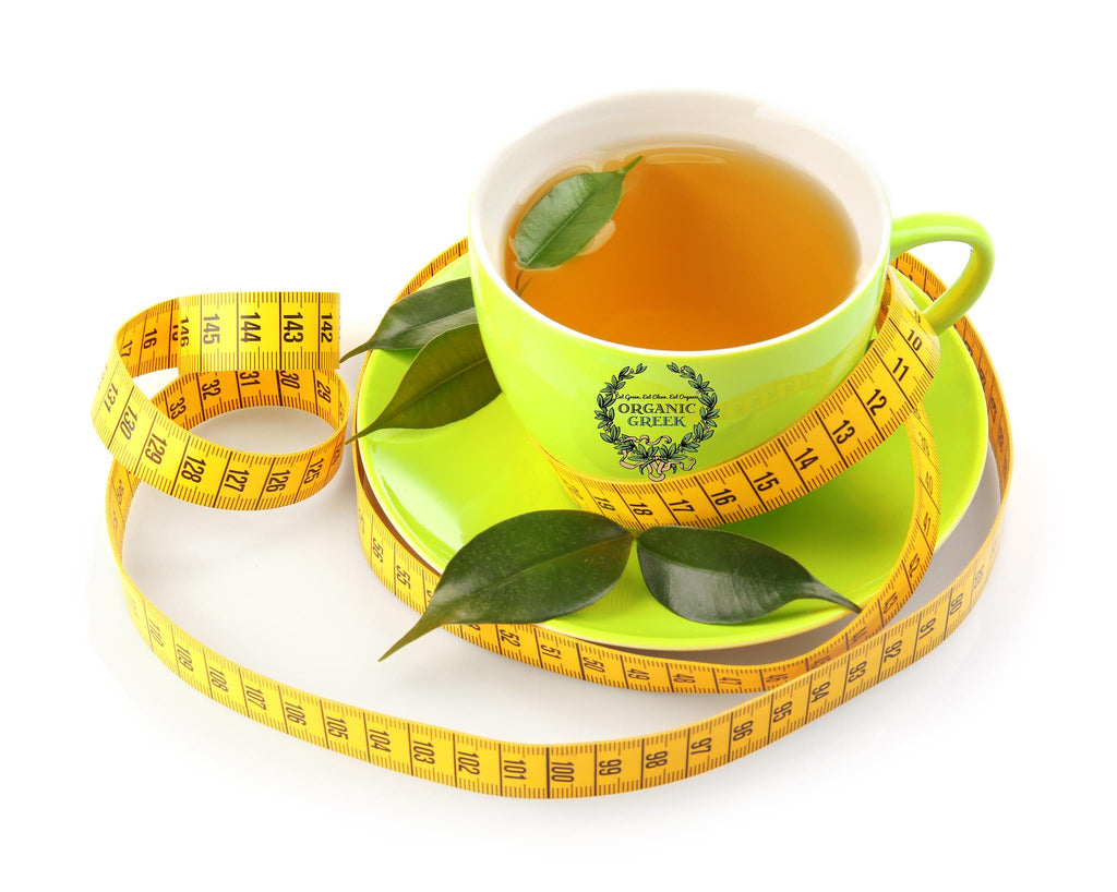 Organic Greek Skinny Herbal 14 Day Ultimate Natural 2 Step Tea Detox Program - Easy to follow, Effective Formulation and Great Taste
