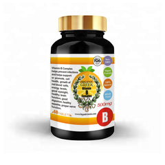Organic Greek Vitamin B Complex Natural Non GMO Supports Production of Energy , Red Blood Cells, Healthy Nervous System and Energy Metabolism
