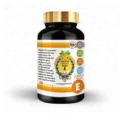 Organic Greek Vitamin E 400IU  Natural Non GMO Supports Antioxidant, Immune Health and Protects Cells from Aging and Damage