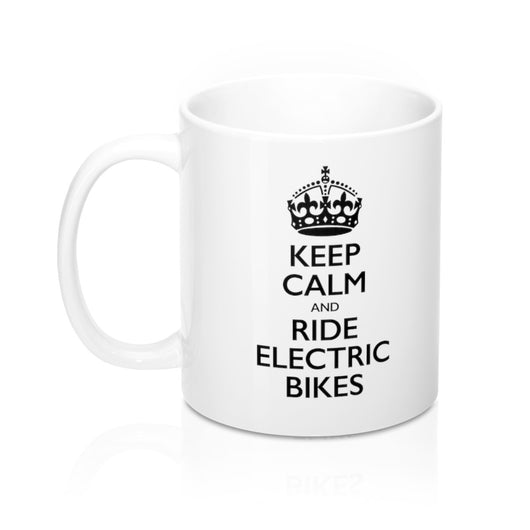 Electric Bike Mug - 11oz -