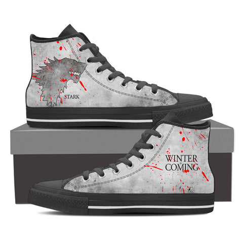 Game of Thrones House Stark Shoes For Women