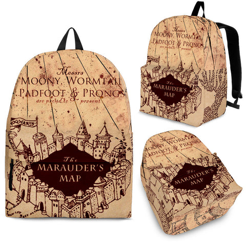 Harry Potter The Marauder's Map Backpack