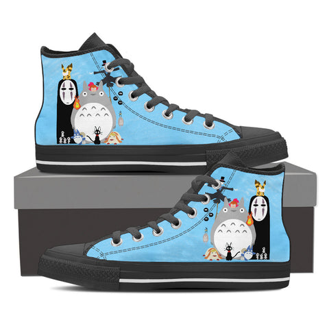 Cutest Miyazaki's Characters Shoes for Women
