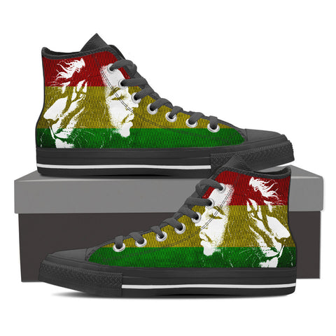 Iron Lion Zion - Bob Marley Shoes for Men