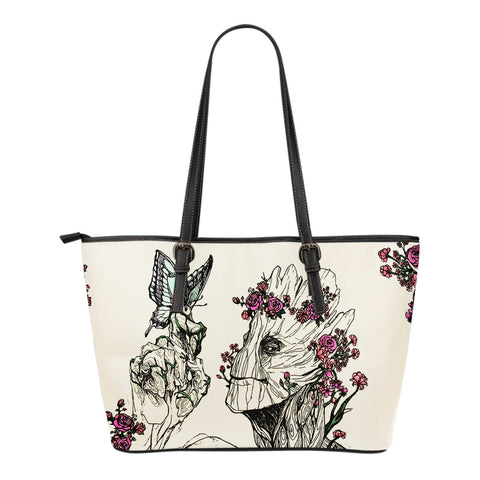 A Lovely Groot Floral Crossbody Small Leather Bag
