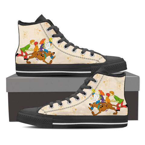 Run Scoooby-Doo Shoes for Men