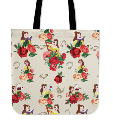 Beauty and The Beast Belle Tote Bags