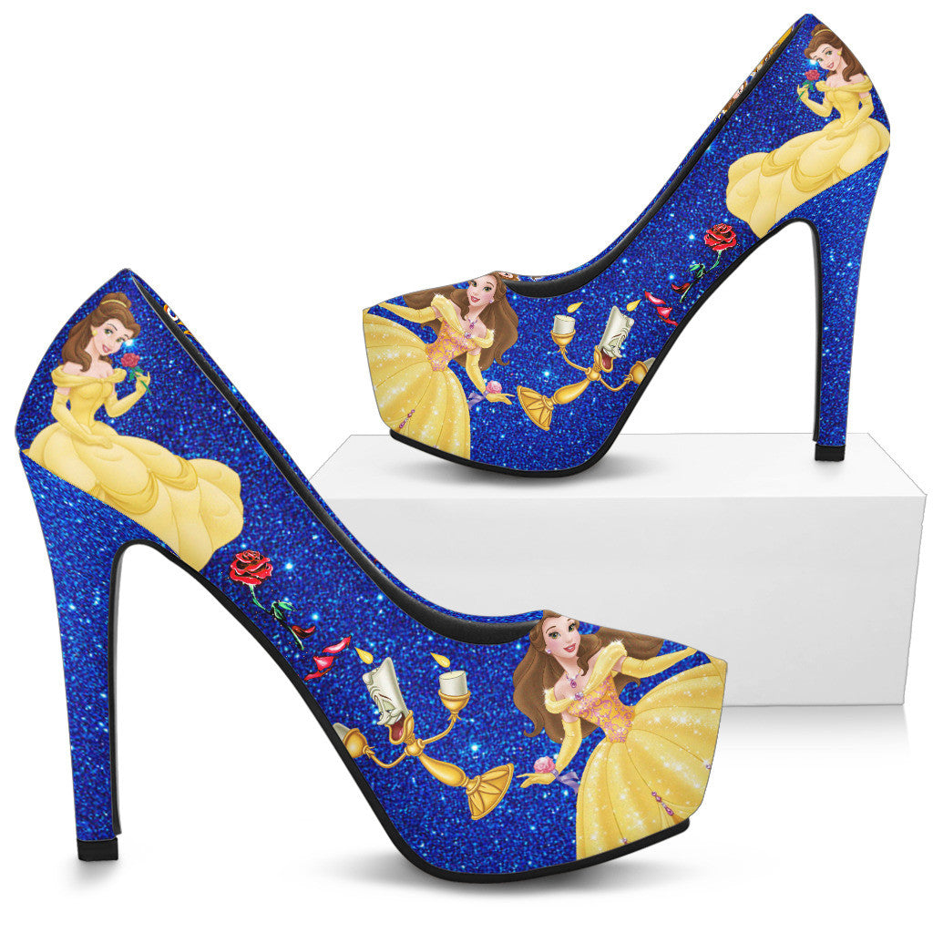 db5707b6531c Beauty and The Beast Shoes Heels – Moovie Shop